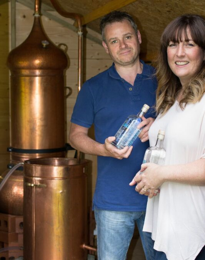 Esker Gin Royal Deeside Scottish spirit